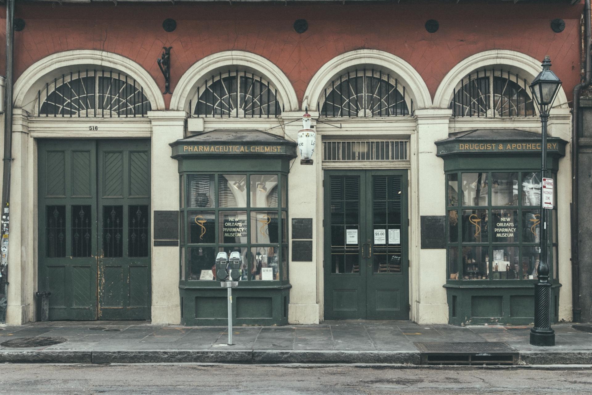 New Orleans Pharmacy facade