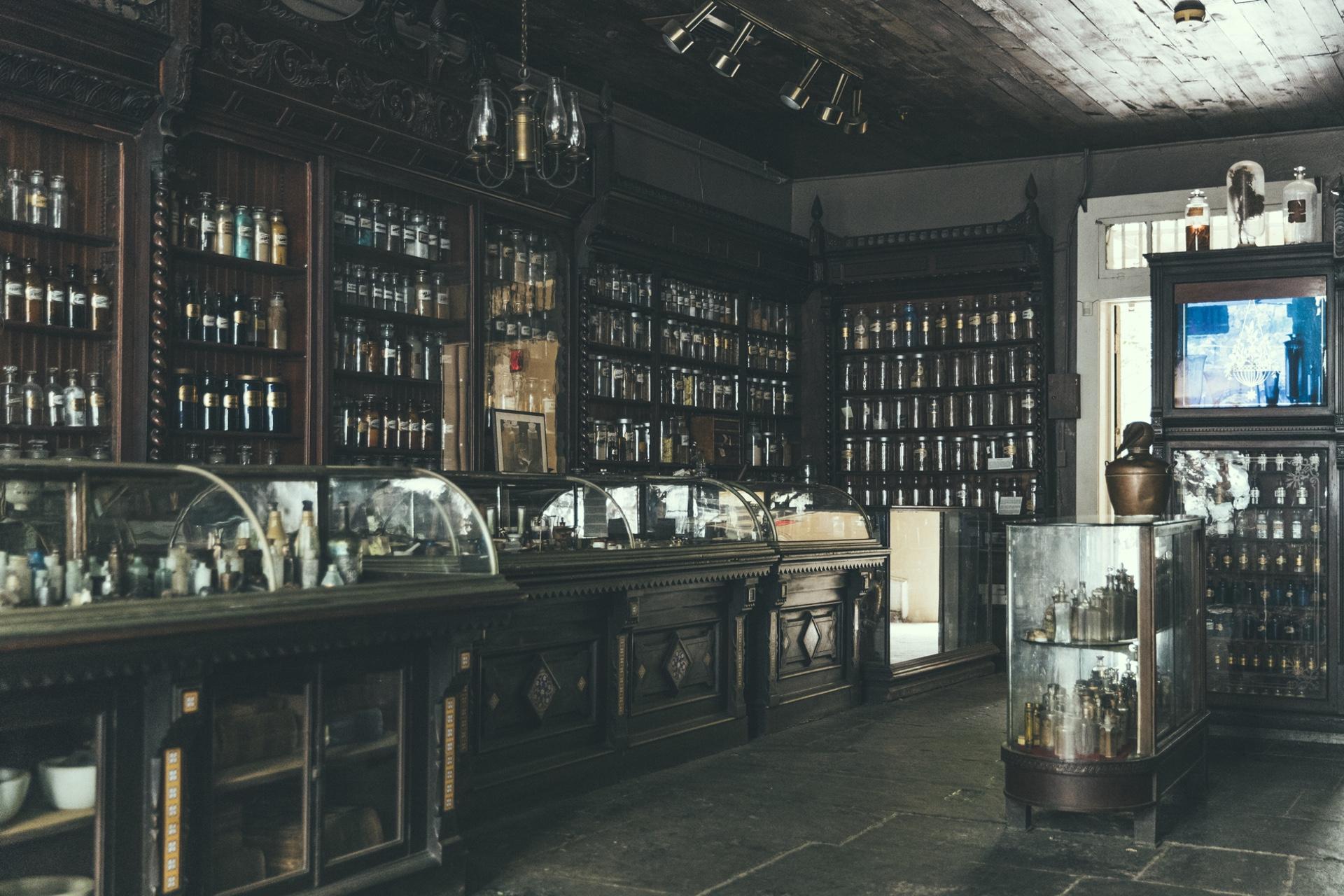 New Orleans Pharmacy interior