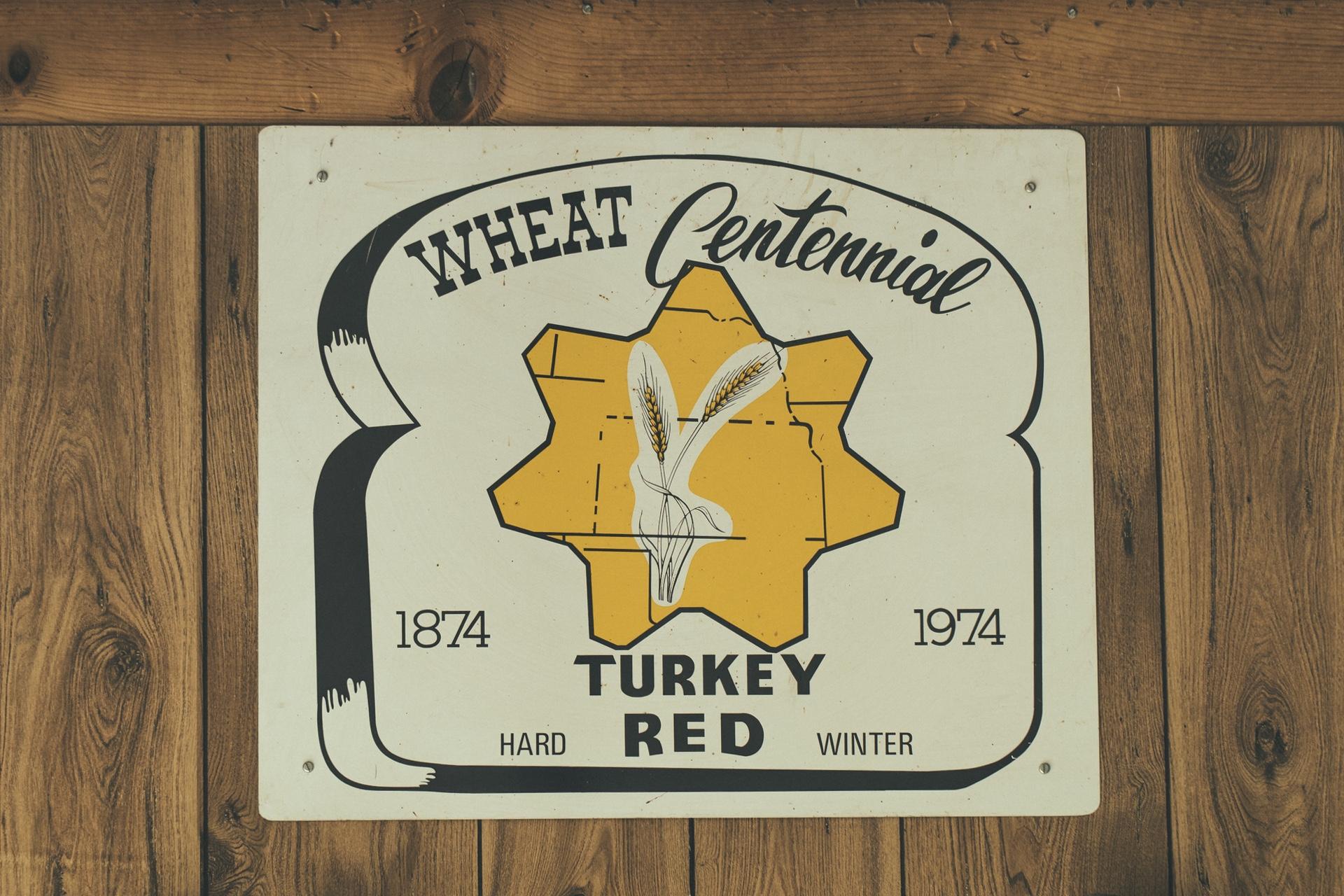 Wheat Centennial Plate