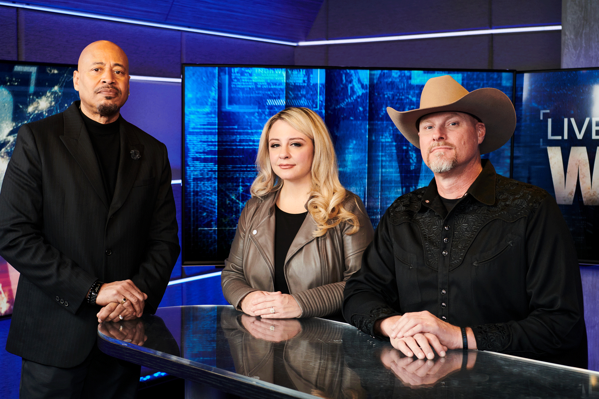 Michelle Sigona and Sheriff Mark Lamb of 'Live PD: Wanted' on What They Find Gratifying About Working on the Show